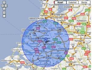 Radiustargeting Google AdWords Geo-targeting