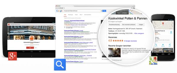 Google Mijn Bedrijf Overzicht