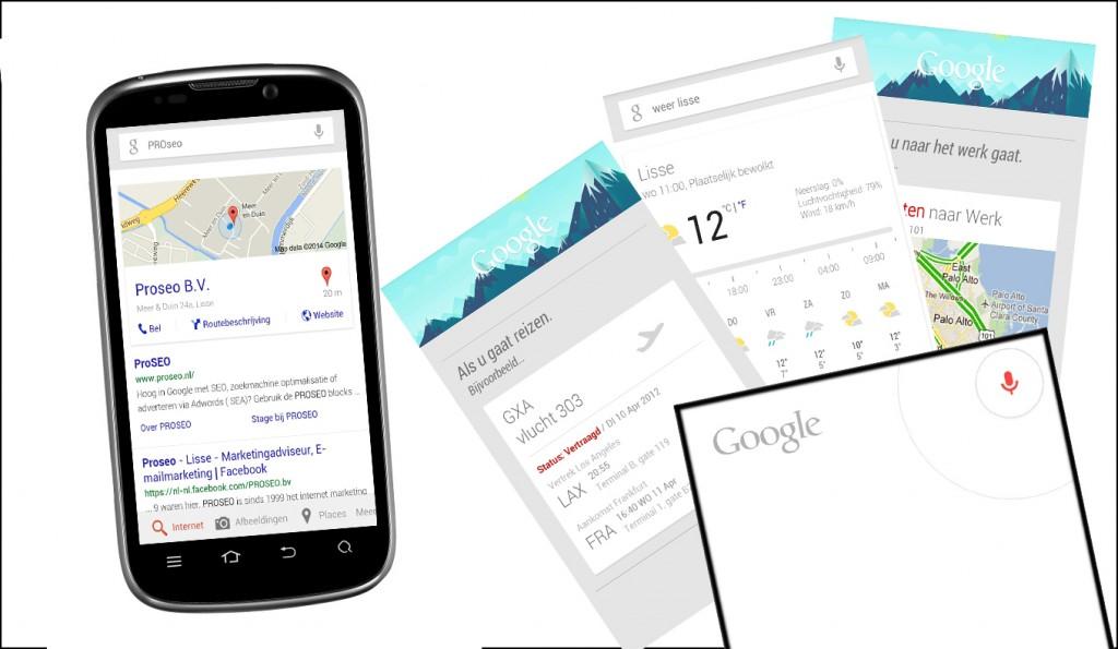 google now app toekomst