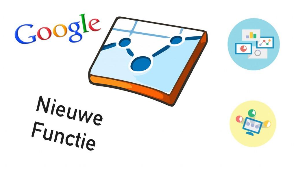 nieuwe functie google analytics