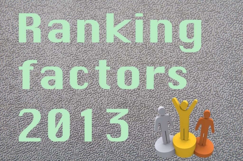 seo factoren posities in google search