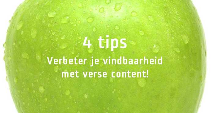 Hoe je met verse content beter vindbaar wordt